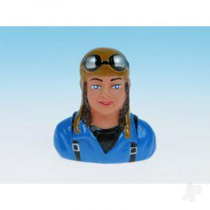 Pilot Lady Blue (Painted) P47