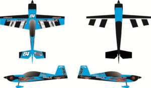 Pilot-RC 31% Extra-330LX 92in (2.3m) (Blue/Black)