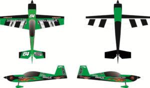 Pilot-RC 31% Extra-330LX 92in (2.3m) (Green/Black)