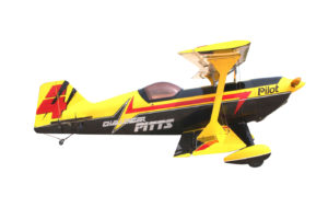 Pilot-RC 87in (40%) Pitts Challenger (YELLOW-BLACK-WHITE)