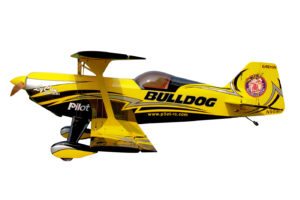 Pilot-RC 87in (40%) Pitts Challenger (BULLDOG)
