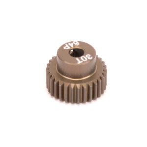 PINION GEAR 64DP 30T (7075 HARD)