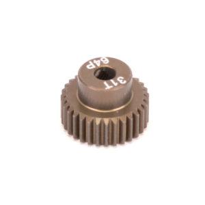 PINION GEAR 64DP 31T (7075 HARD)