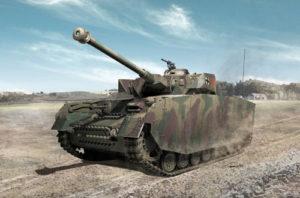 Academy German PzKpfw IV Tank Ausf H Mid 1:35 PKAY13516