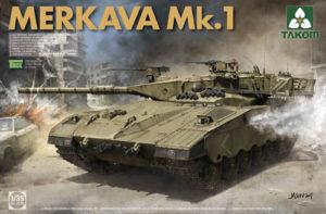 PKTAK02078 Israeli Main Battle Tank Merkava 1