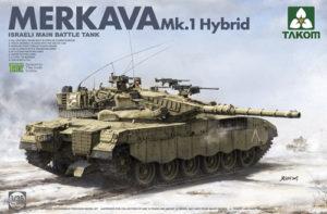PKTAK02079 Israeli Main Battle Tank Merkava 1 Hybrid