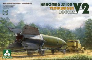 Takom V-2 Rocket Transporter Vidalwagen Hanomag SS100 1:35 PKTAK02110