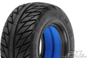 PRO-LINE 'STREET FIGHTER' SC TYRES W/CLOSED CELL INSERTS