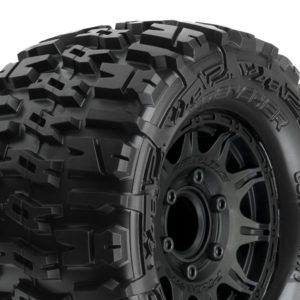PROLINE TRENCHER 2.8 ALL TER. TYRES BLK RAID WHEELS 6X30 HEX