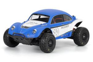 Proline Volkswagen Full Fender Baja Bug Clear Body for Slash and