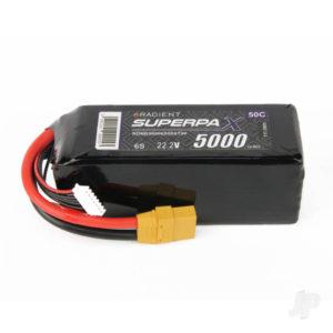 Radient LiPo 6S 5000mAh 22.2V 50C XT90