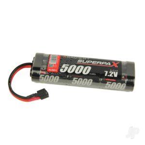 Radient NiMH 7.2V 5000mAh SC Stick, Deans (HCT)