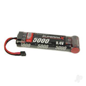 Radient NiMH 8.4V 5000mAh SC 6-1 Stick, Deans (HCT)