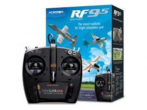 RealFlight 9.5 RC Flight Simulator with Spektrum InterLink D RFL1200