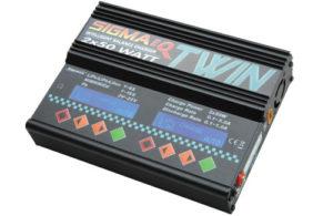 Ripmax Sigma EQ Twin AC/DC Charger (2x 50W)