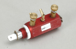 Robart V/Rate Control Valve(2Way/3Port/Red