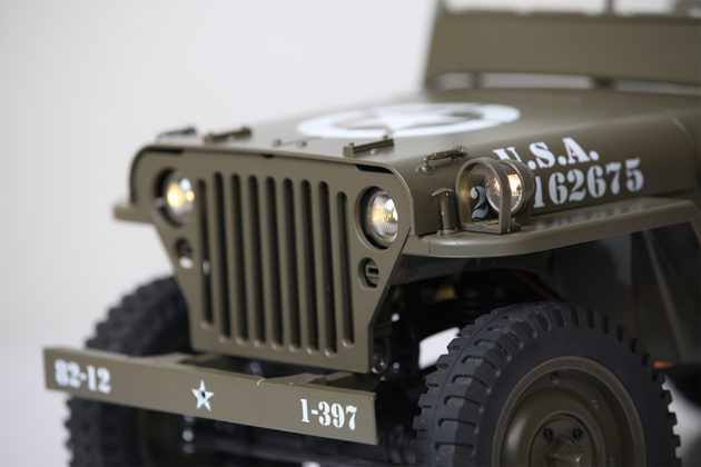 ROC HOBBY 1/6TH WILLYS JEEP MILTARY SCALER RTR