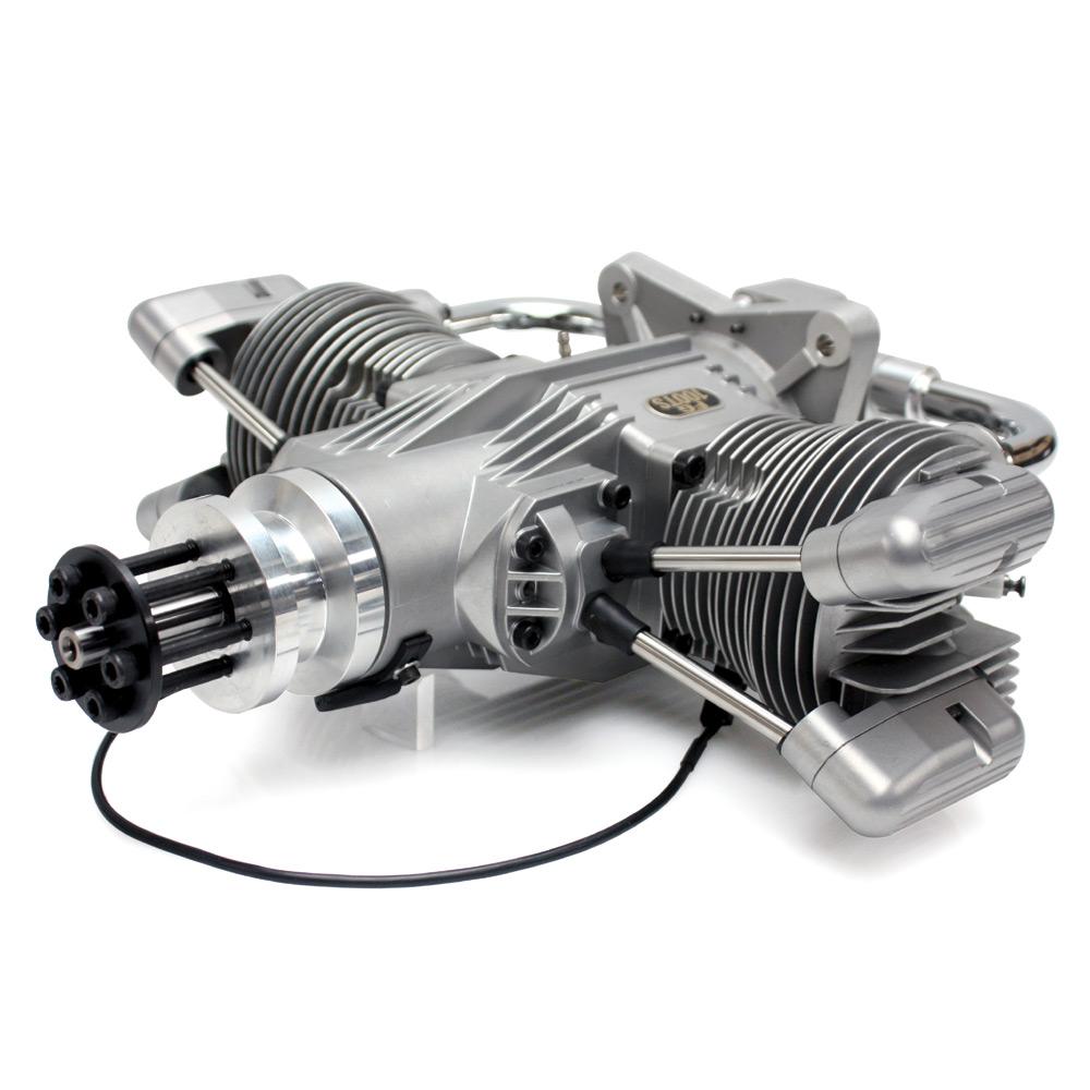 Saito FG-100TS Twin Petrol Engine