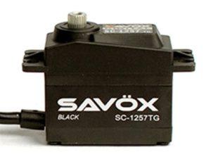 Savox HIGH TORQUE CORELESS DIGI SERVO 10KG@6.0V - BLACK
