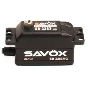 Savox Low Profile brushless DIGI 10KG/0.076S@6.0V - BLACK