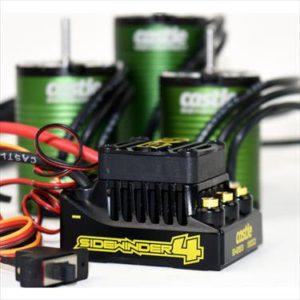 Sidewinder 4, 2-3S, WP ESC w/1410-3800Kv Motor (5mm Shaft)