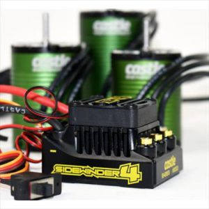 Sidewinder 4, 2-3S, WP ESC with 1406-7700Kv Motor