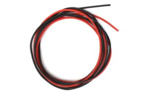Silicone Wire 24AWG 1m Black/1m Red (40 Strands OD1.6mm)