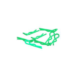 SMALL BODY CLIP 1/10 - FLUORESCENT GREEN (8)