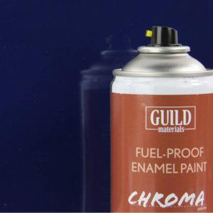 Gloss Enamel Fuel-Proof Paint Chroma Dark Blue (400ml Aerosol)