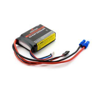 Spektrum 2200mAh 2S 6.6volt Li-Fe Receiver Battery