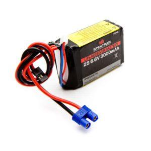 Spektrum 3000mAh 2S 6.6volt Li-Fe Receiver Battery