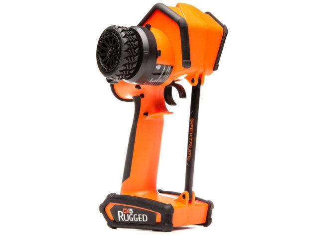 Spektrum DX5 Rugged 5ch DMSR TX Only, Orange