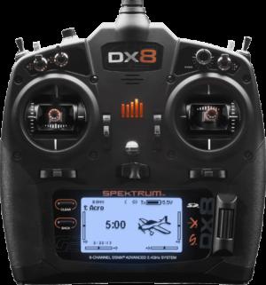 Spektrum DX8 G2 8-Channel System with AR8010 telemtry Receive SPM8015EU
