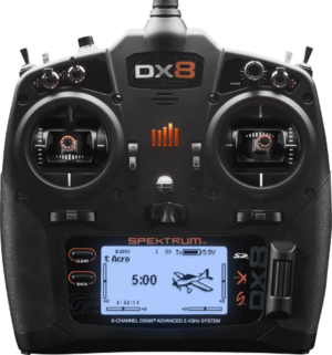 Spektrum DX8 G2 8-Channel System TX only (battery & charger inluded) SPMR8000EU