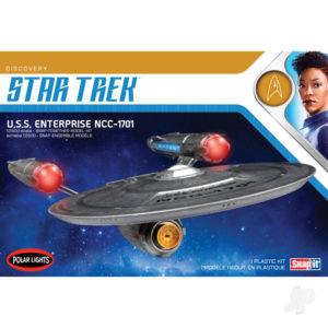Star Trek Discovery USS Enterprise 1:2500 Snap Kit