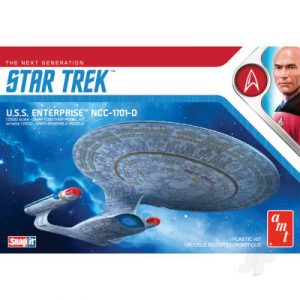 AMT Star Trek U.S.S. Enterprise-D (Snap) 2T