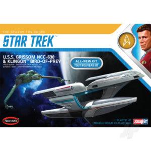 Star Trek U.S.S. Grissom / Klingon BoP (2-pack)