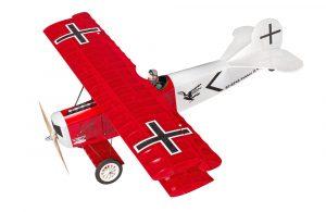 Super Flying Model Fokker DVII EP ARTF Red