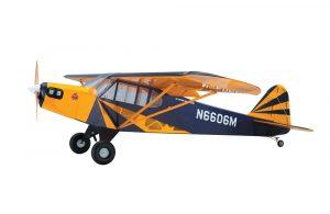 Super Flying Model Piper Cub (Clipped) 25% ARTF Blue
