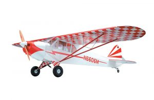 Super Flying Model Piper Cub (Clipped) 25% ARTF Red