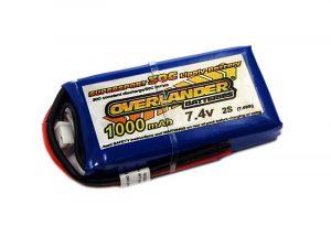 Overlander Supersport 1000 2S 7.4v 30C LiPo Battery