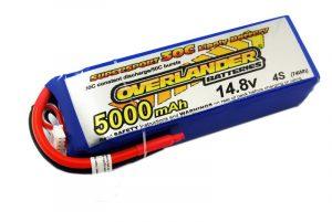 5000MAH 14.8V 4S 35C SUPERSPORT PRO LIPO BATTERY