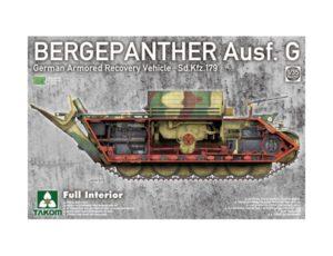 TAKOM 1/35 BERGEPANTHER AUSF G W/INTERIOR