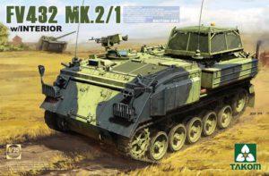 Takom British APC FV432 Mk 2/1 with interior