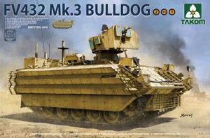 Takom British APC FV432 Mk 3 Bulldog 2 in 1