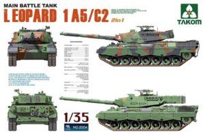 Takom Leopard 1 A5/C2 MBT 2 in 1