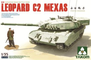 Takom Leopard C2 MEXAS Canadian MBT