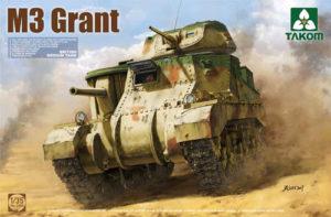 Takom M3 Grant British Medium Tank