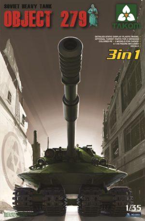 Takom Object 279 Soviet Heavy Tank (3 in 1)