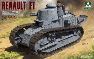 Takom Renault FT French Light Tank 3 in 1